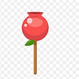 紅いりんご飴🍎