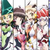 「戦姫絶唱シンフォギアGX」キャラクターソングCDが8枚連続リリース!