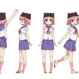 """7月放送開始TVアニメ「がっこうぐらし!」""""ゆき""""""""くるみ""""らメインキャラクターデザインが公開"""