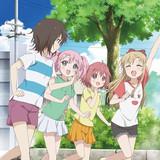 「ゆるゆり さん☆ハイ!」10月放送決定! 8月&9月には新作「ゆるゆり なちゅやちゅみ!+」も放送