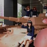 「ガルパン」ファンイベントで実物を忠実に再現したⅣ号戦車D型改(H型仕様)が秋葉原に登場