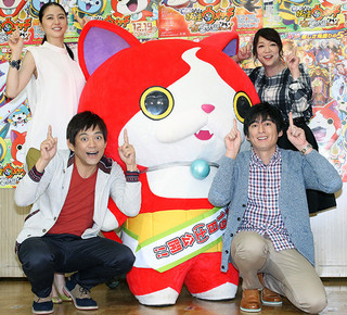 博多華丸・大吉、ジバニャンと対決に「本気でつぶしにいく」、長澤まさみは猫アレルギー告白