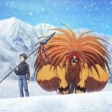 「獣の槍」を持って記念撮影も 「うしおととら」と長野県のスキー場がコラボ