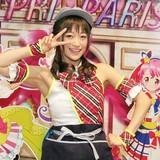 茜屋日海夏が「プリパラ」カフェの店長に就任!ウエイトレス姿を披露