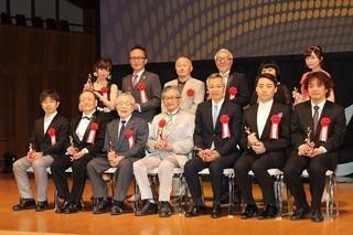 第25回日本映画批評家大賞(アニメーション部門)の授賞式