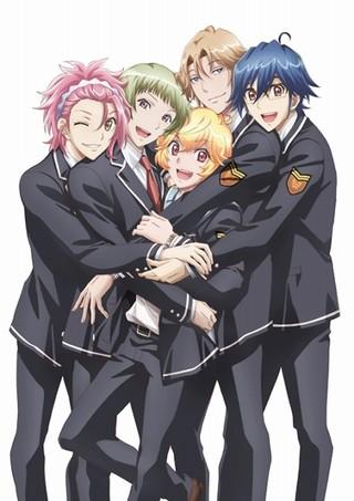 「美男高校地球防衛部LOVE!LOVE!」キービジュアル 防衛部
