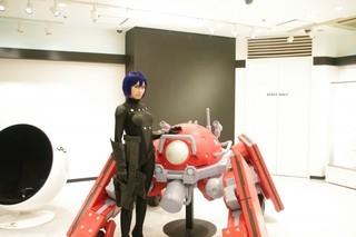 渋谷マルイで「攻殻機動隊」VR視聴がスタート VR4Dシステムでより高度な仮想体験を実現