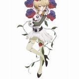 森の音楽家クラムベリー(CV:緒方恵美): 花に包まれたエルフの音楽家姿の魔法少女。ベテラン組の魔法少女のひとり。音楽を愛し、魔法少女専用チャットではいつも丘の上でバイオリンを奏でている。エルフらしく世捨て人のような妖しい雰囲気をもつ。 魔法:音を自由自在に操ることができるよ 大きな音から小さな音、高い音から低い音まで、認識できる範囲の音を自由に再現できる。ちなみにクラムベリーは、魔法少女の中でも特別に鋭い聴覚を持っているんだ。