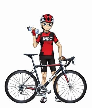 BMCサイクルウェア姿の坂道