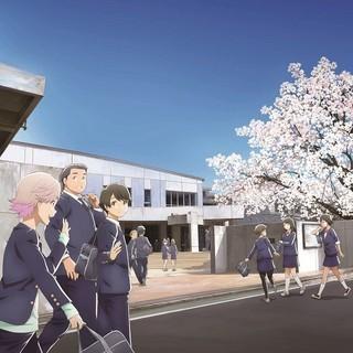TVアニメ「月がきれい」キービジュアル
