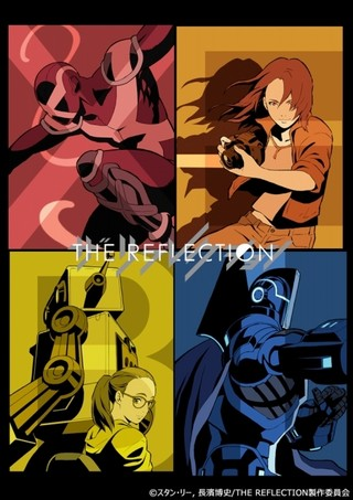 「THE REFLECTION」9nine演じる4人の女子高生や謎の人物レイスほか新キャラクター公開