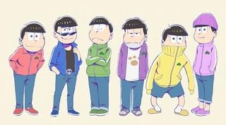 「おそ松さん」10月6日に第2期放送開始イベント開催决定!6つ子の新衣装も公開