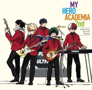 「ヒロアカ」2期サントラが9月6日発売!ジャケットイラストでデクがバンド結成!?