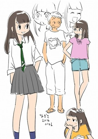 青木俊直氏によるキャラクター原案