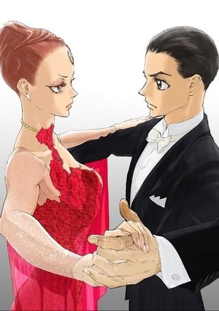 「ボールルームへようこそ」最新キービジュアル&PV公開 社交ダンス競技会「三笠宮杯」とのコラボも