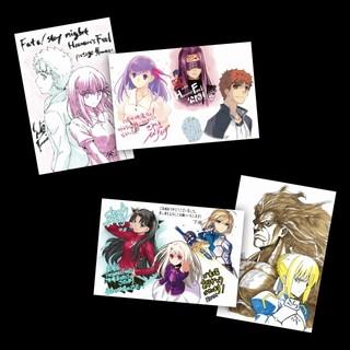 「劇場版 Fate/stay night[Heaven's Feel] I」1週目来場者特典は描き下ろしポストカードセット
