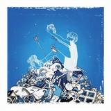 「デフォルメの青写真」初回限定盤ジャケット