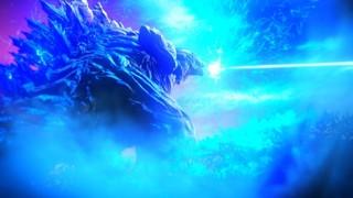 ゴジラが熱線で地球を切り裂く 主題歌初公開の「GODZILLA」本予告完成