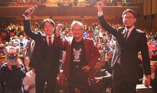 「劇場版マジンガーZ」ローマで世界最速上映 イタリアのファンが原作者・永井豪氏を大歓迎