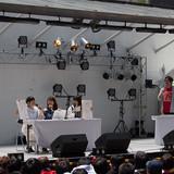 """テレビアニメ「ISLAND」の""""3人娘""""中島唯、高柳知葉、田中貴子が「1999年クイズ」に挑戦"""