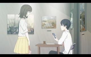 「空想委員会」原作の短編アニメがニコ生で5月19日配信 画廊で出会った男女の物語を描く