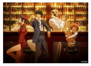 「カウボーイビバップ」がアニメイトカフェとコラボ