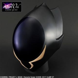 「コードギアス 反逆のルルーシュ」ゼロの仮面が実物大で商品化 木村貴宏監修で作中デザイン再現