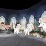 「未来のミライ展」会場は5つのエリアで作品の世界観を体験