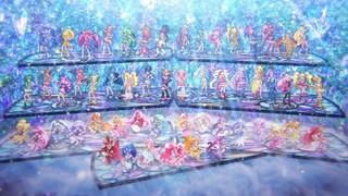 歴代55人のプリキュアが華麗に踊る「映画HUGっと!プリキュア」エンディングダンス映像公開