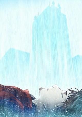 「消滅都市」タクヤが雨に打たれる第2弾ティザービジュアル完成