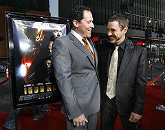 ギャラアップの2人は高笑い!?「アイアンマン」