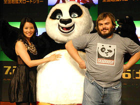 パンダそっくりのおちゃめなJB「カンフー・パンダ」