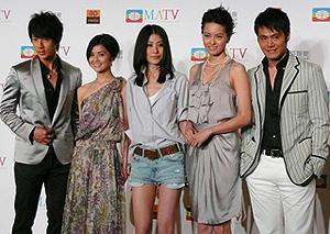 アジアのスターが勢揃い!「江山美人」
