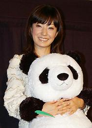 かわいいパンダにメロメロの菅野「パンダフルライフ」