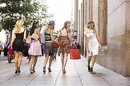 今度はロンドンで買い物しまくり?「セックス・アンド・ザ・シティ」