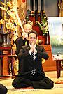 女人禁制の僧侶を演じた中村勘太郎、私生活はラブラブ!「禅 ZEN」試写会