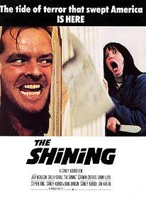 ジャック・ニコルソンが狂気の男に! 「シャイニング」ポスター「シャイニング」