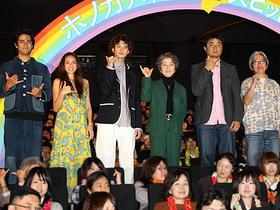 倍賞の風格に主役はタジタジ、原作者は感激のあまり号泣「ホノカアボーイ」