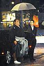 ブラッド・ピットと武蔵丸親方がソフトバンクのCMで共演!