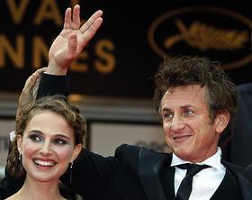 昨年のカンヌ映画祭で審査員を務めた ショーン(審査員長)とナタリー「ミルク」