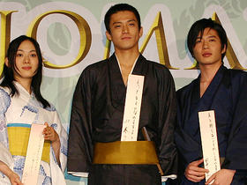 石田三成、多襄丸と時代劇づいてる小栗「TAJOMARU」