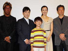 もっとも大人びたコメントを発した、 武井くん(11)に登壇者らはタジタジ「ぼくとママの黄色い自転車」