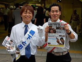 ニセ橋下大阪府知事の知名度がビミューに影響「96時間」