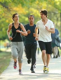 アメリカ人はジョギング大好き