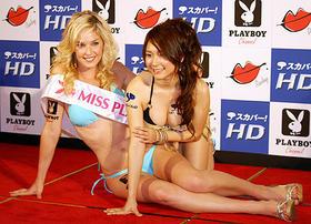 日米でセクシー対決!「プレイボーイ」