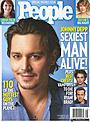 ジョニー・デップ、米ピープル誌が選ぶ「09年最もセクシーな男」に!