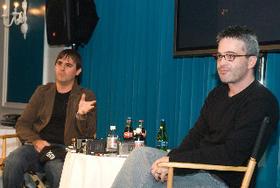 多忙な脚本家コンビ、オーチー(左)とカーツマン「トランスフォーマー」