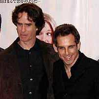(左より)ジェイ・ローチ監督、ベン・スティラー「ミート・ザ・ペアレンツ」