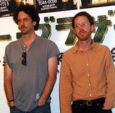 左が兄のジョエル、右が弟のイーサン「オー・ブラザー!」