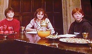 素顔はとってもシャイな3人「ハリー・ポッターと賢者の石」